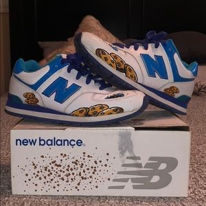 Shoes - New Balance Cookie Monster Limited Edition